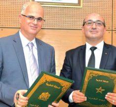 Partenariat entre Barid Al-Maghrib et l'Ordre national des ingénieurs géomètres-topographes