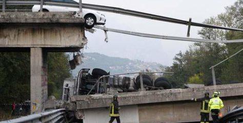 Italie.. Plusieurs morts dans un effondrement d'un pont
