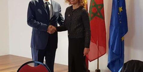 Think Europe.. M. le Ministre rencontre et son homologue espagnole