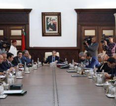 Conseil de gouvernement.. Présentation de la Loi de Finances et examen de trois projets de décret au menu