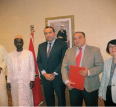 MAROC/SÉNÉGAL.. Cérémonie de signature d'un accord-cadre entre l'IFMIAC et ISEP dans le domaine de la formation professionnelle